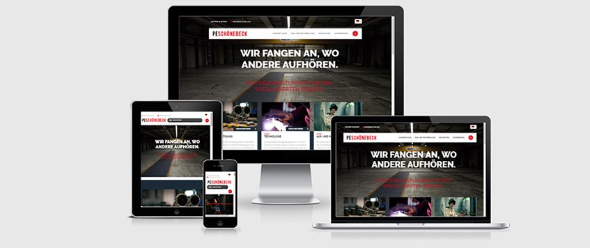 Website in neuem Gesicht